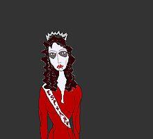 Miss Vampire Queen Pageant - Miss Espana by surfelvis