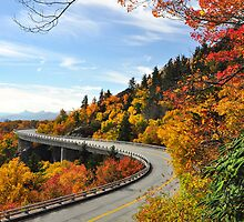 Drive Into Autumn by Karen Peron