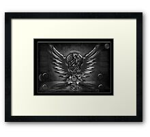 ©DA Wings IDA Monochromatic Framed Print