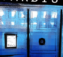 Tardis! Sticker