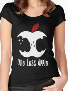 One Less Apple Women's Fitted Scoop T-Shirt