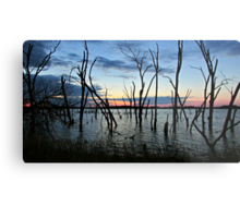 Twisted Twilight Metal Print