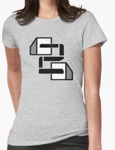 Big Blocks Womens Fitted T-Shirt