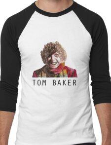 Tom Baker! Men's Baseball ¾ T-Shirt