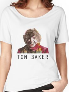 Tom Baker! Women's Relaxed Fit T-Shirt