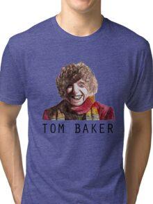 Tom Baker! Tri-blend T-Shirt