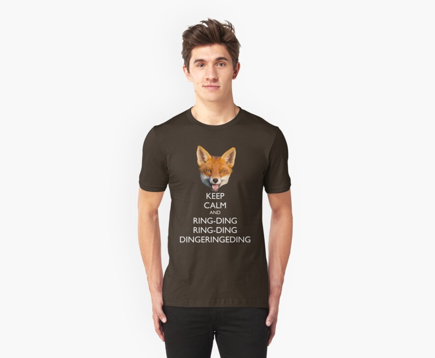 The Fox Keeps Calm by machmigo