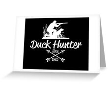 duck hunter since 1985 Greeting Card