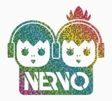Nervo - Multicolor EDM Logo by N3ON