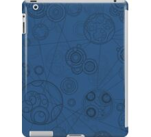Gallifrey Pattern - Blue iPad Case/Skin