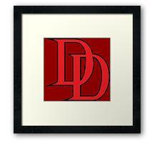 Daredevil Logo Framed Print
