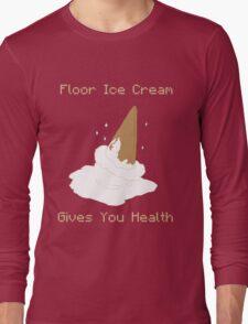 Floor Ice Cream Gives You Health - Kid Icarus Long Sleeve T-Shirt