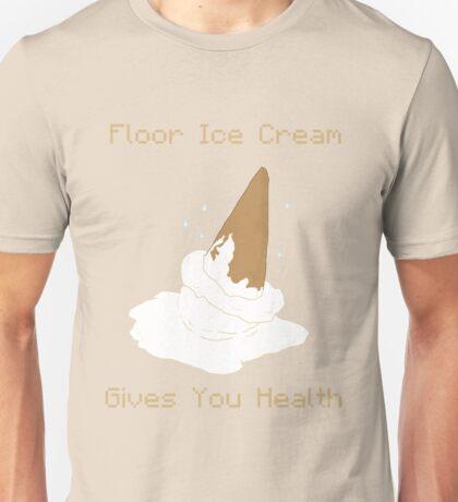 Floor Ice Cream Gives You Health - Kid Icarus Unisex T-Shirt