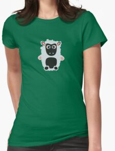 Cute Sheep Womens Fitted T-Shirt