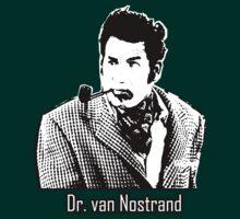 Cool Cosmo Kramer (Dr. van Nostrand) Tee! by hooluwan