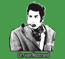 Cool Cosmo Kramer (Dr. van Nostrand) Tee! One Piece - Short Sleeve