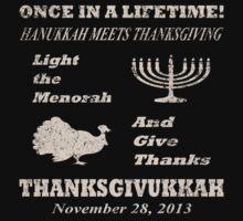 Classic Thanksgivukkah - Hanukkah meets Thanksgiving by xdurango
