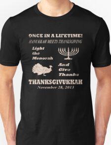 Classic Thanksgivukkah - Hanukkah meets Thanksgiving T-Shirt