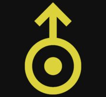 Uranus Symbol Yellow by timnock