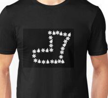Christmas shoe tree pattern Unisex T-Shirt