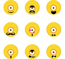 Funny emotions Photographic Print