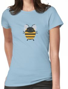 Cute Bee Womens Fitted T-Shirt