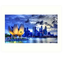 Photography Singapore  for Interior Design by William Teo  Art Print