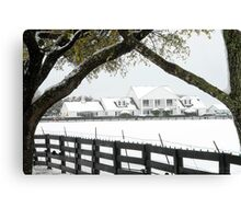 "Southfork Ranch Home of ""Dallas"" - TV Mini-Series Canvas Print"