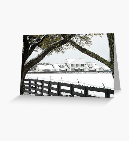 "Southfork Ranch Home of ""Dallas"" - TV Mini-Series Greeting Card"