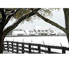 "Southfork Ranch Home of ""Dallas"" - TV Mini-Series Photographic Print"
