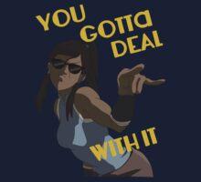 LoK - Korra Deal With It by ianzplayer