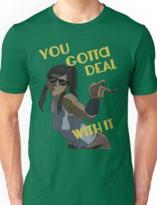 LoK - Korra Deal With It Unisex T-Shirt