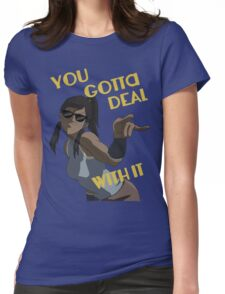 LoK - Korra Deal With It Womens Fitted T-Shirt