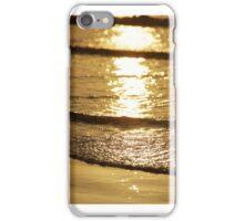 golden sea iPhone Case/Skin