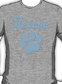 iRescue - animal cruelty, vegan, activist, abuse T-Shirt