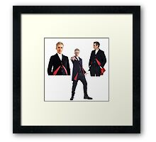 Doctor who- 12th Doctor  Framed Print
