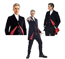 Doctor who- 12th Doctor  Photographic Print