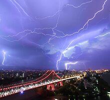 Multiple Exposure | Lightning IV by NickVerburgt