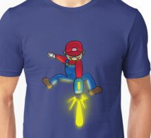 Mario Energy Beam Unisex T-Shirt
