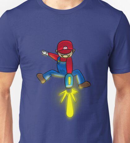 Mario Energy Beam Unisex T-Shirt
