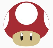 Mario-Red Mushroom by aljoschakersna