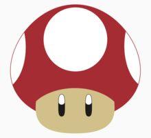 Mario-Red Mushroom by Aljoscha Kirschner