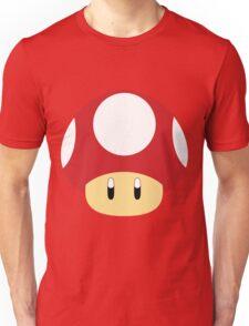 Mario-Red Mushroom Unisex T-Shirt