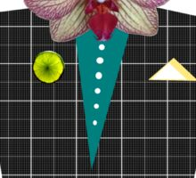 Mr. Orchid Monkey-Man Sticker