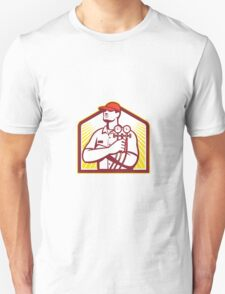 Heating and Cooling Refrigeration Technician Retro Unisex T-Shirt