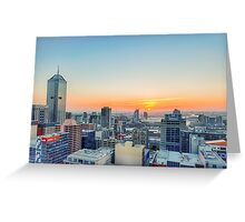 Magnificent Melbourne III Greeting Card