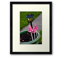 Garden Love Framed Print