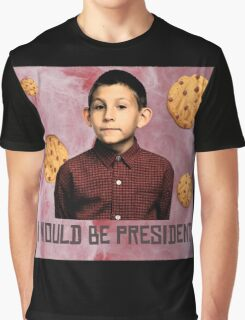 DEWEY PRESIDENT MALCOLM IN THE MIDDLE Graphic T-Shirt