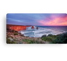 12 Apostles at Sunset Canvas Print