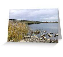 Fleetwood Nature Reserve. Greeting Card